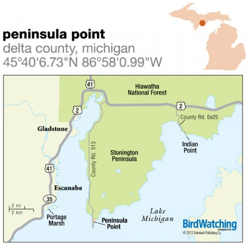 137. Peninsula Point, Delta County, Michigan