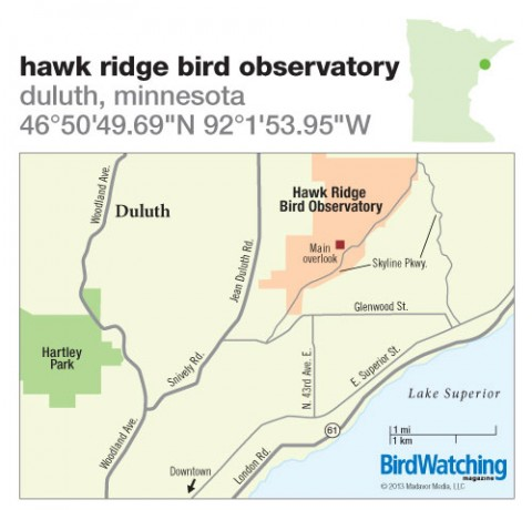 170. Hawk Ridge Bird Observatory, Duluth, Minnesota