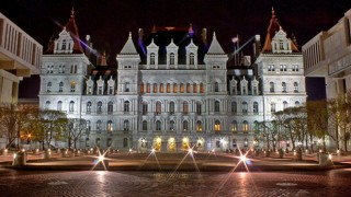The New York State Capitol in Albany. Photo by Tyler McCall (Creative Commons)