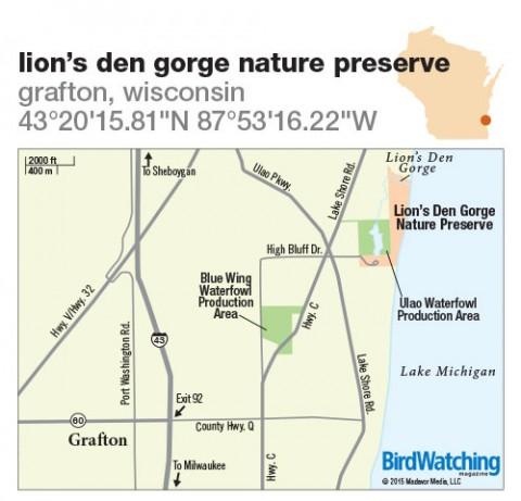 Lion S Den Gorge Nature Preserve Map