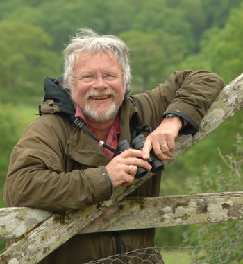 Author and TV personality Bill Oddie will be one of the speakers at this year's Birdfair. Photo courtesy of the RSPB