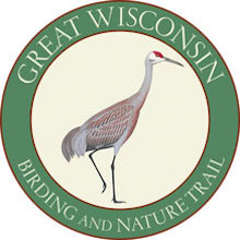 Logo of the Great Wisconsin Birding and Nature Trail, created by Kenn Kaufman.