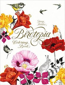 Birdtopia, by Daisy Fletcher, is one of our recommended bird books.