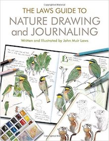 The Laws Guide to Nature Drawing and Journaling, by John Muir Laws, is one of our recommended bird books.