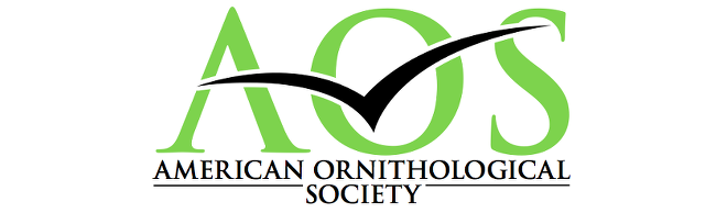The logo of the new American Ornithological Society.