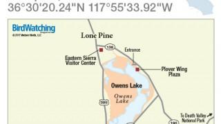 Owens Lake map