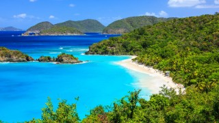 Trunk Bay at Virgin Islands National Park. Photo by Sorin Colac/Shutterstock