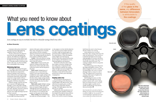 What you need to know about lens coatings
