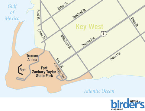 9. Fort Zachary Taylor State Park, Key West, Florida