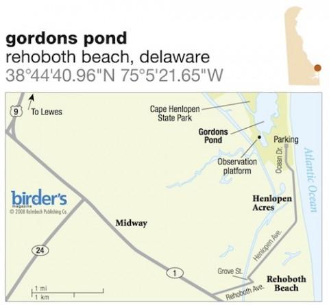 51. Gordons Pond, Rehoboth Beach, Delaware