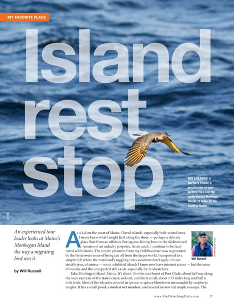 Island rest stop