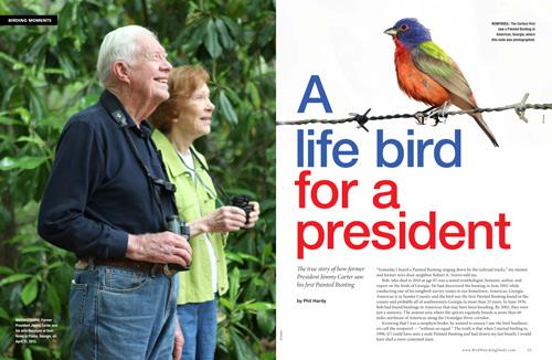 A Life Bird for a President