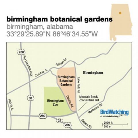 131. Birmingham Botanical Gardens, Birmingham, Alabama