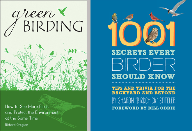 New books tell how to bird green, reveal secrets about birding