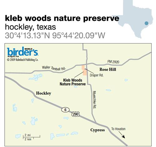 76. Kleb Woods Nature Preserve, Hockley, Texas