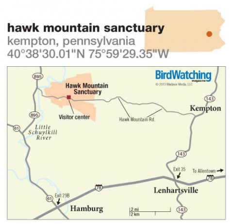 169. Hawk Mountain Sanctuary, Kempton, Pennsylvania
