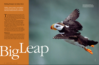 Big leap: Birding the Pribilofs