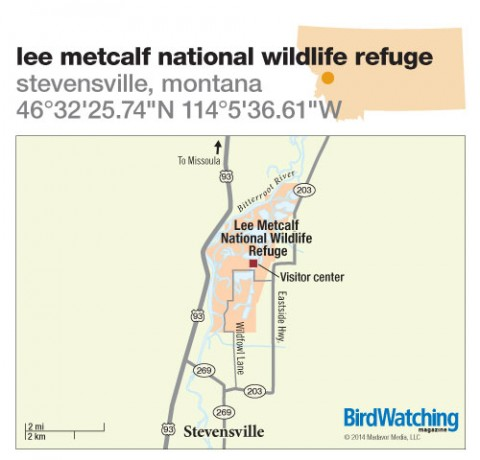 183. Lee Metcalf National Wildlife Refuge, Stevensville, Montana