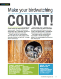 Make your birdwatching count!