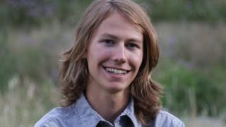 Essay-contest winner Marcel Such, Lyons, Colorado.
