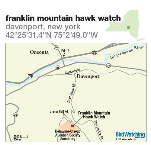 218. Franklin Mountain Hawk Watch, Davenport, New York