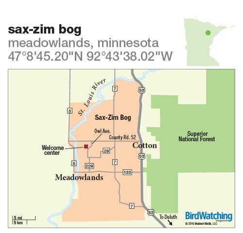 222. Sax-Zim Bog, Meadowlands, Minnesota
