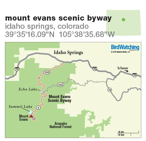 234. Mount Evans Scenic Byway, Idaho Springs, Colorado