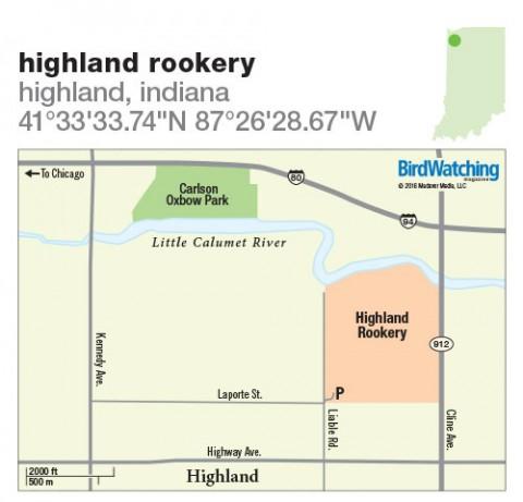 238. Highland Rookery, Highland, Indiana