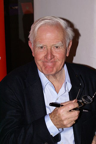 John Le Carré in 2008. Photo by Krimidoedel (Creative Commons BY 3.0)