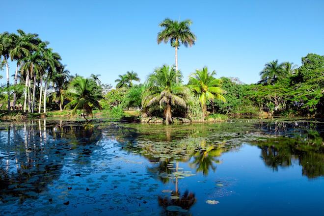 A lake on the Zapata Peninsula. Photo by Lena Wurm/Shutterstock
