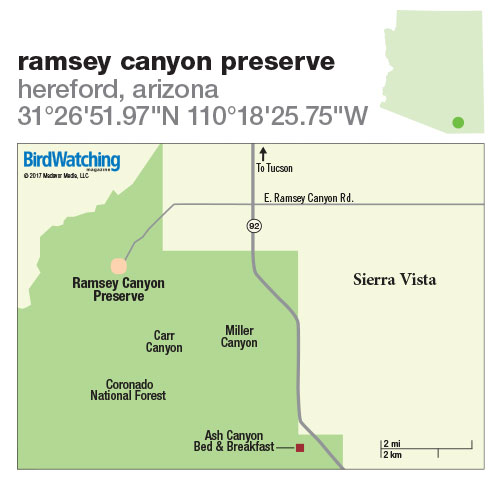 270. Ramsey Canyon Preserve, Hereford, Arizona