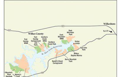 284. W. Kerr Scott Reservoir, Wilkes County, North Carolina