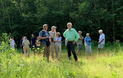 Presidential politics meets birdwatching in New Hampshire