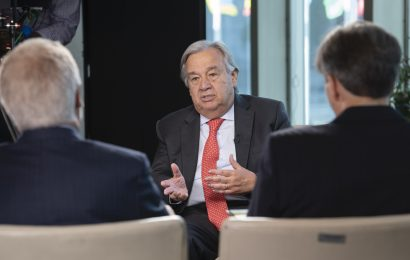 U.N. chief: 'Nature is angry… nature strikes back'