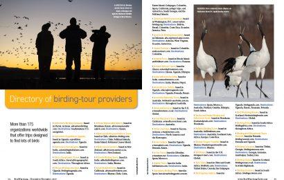 Directory of birding-tour providers