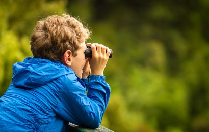 Birdwatching with children