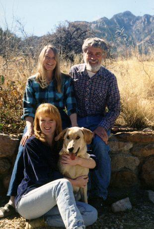 Alan Craig, Narca Moore-Craig, and Hollin Stafford in Portal, Arizona.