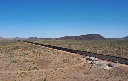 Border wall construction accelerates, harming wildlife and habitat