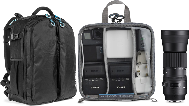 Gura Gear Backpack, Tamron Lens
