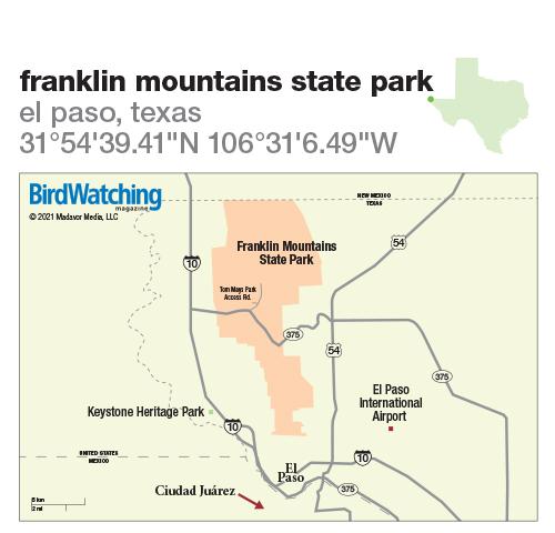 308. Franklin Mountains State Park, El Paso, Texas