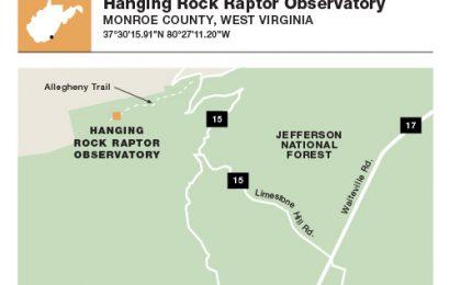 315. Hanging Rock Raptor Observatory, Monroe County, West Virginia