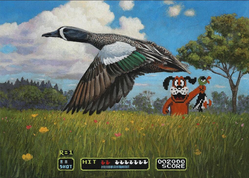 duck art